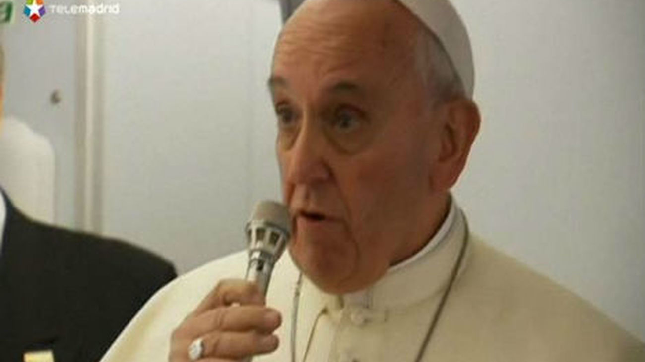 El Papa denuncia el desempleo juvenil en el discurso de bienvenida en Río