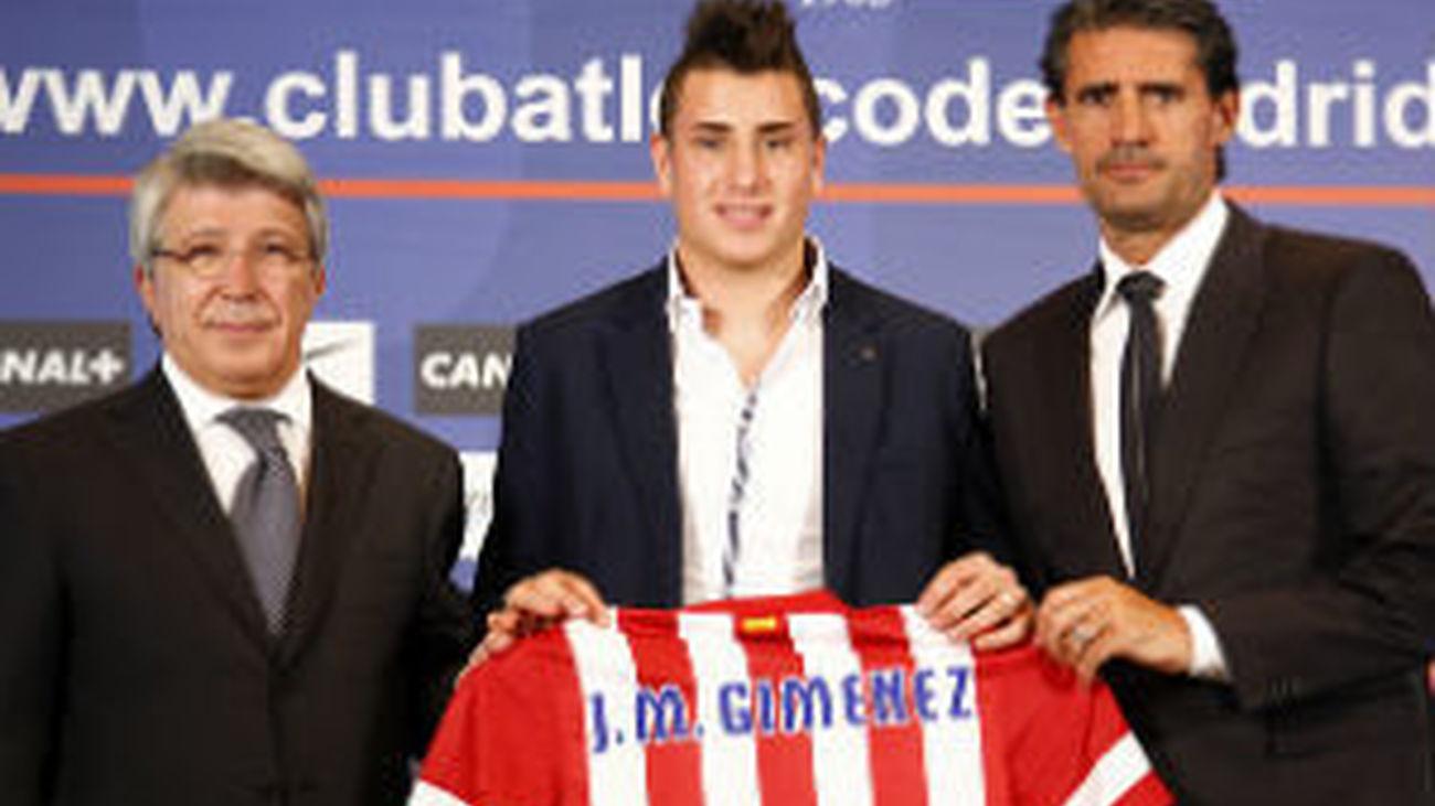 El Atleti presenta a Gutiérrez