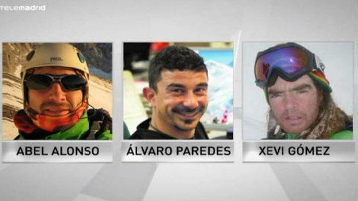 Dan por fallecidos a los tres alpinistas españoles perdidos en el Himalaya