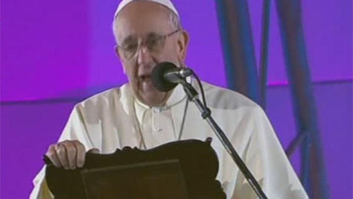 """El Papa arremete contra la """"corrupción"""" de los políticos"""