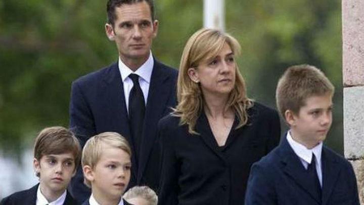 La Infanta Cristina se irá a vivir con sus hijos a Suiza y Urdangarin seguirá en Barcelona