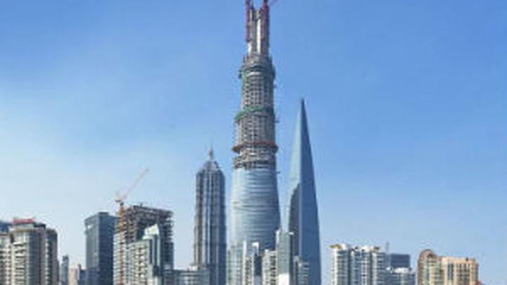 La torre de Shanghái se convierte en el segundo edificio más alto del mundo