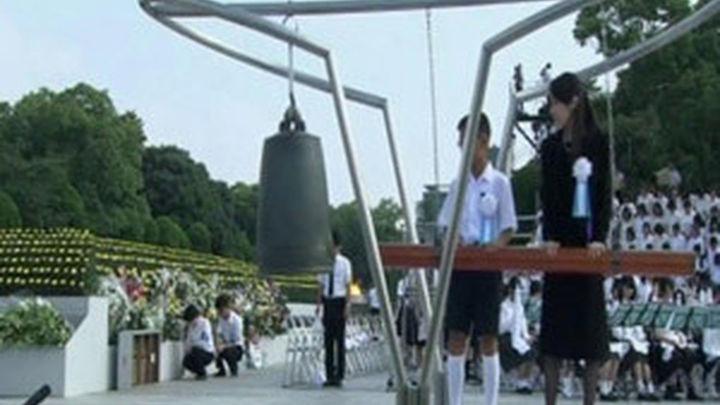 La ciudad de Hiroshima conmemora el 68 aniversario del bombardeo atómico