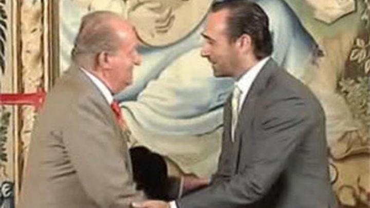 El Rey y Bauzá abordan la necesidad de  actuar con mayor contundencia contra pirómanos