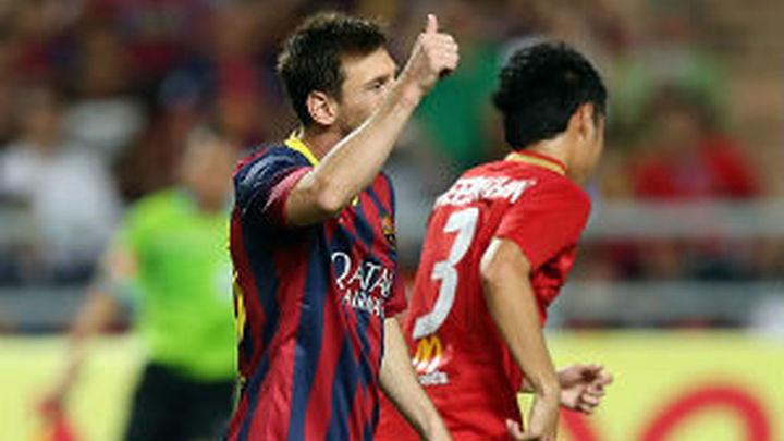 1-7. El Barça se aprovecha de Tailandia