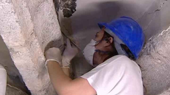 """Restauran un conjunto """"único"""" de pinturas góticas en Robledo de Chavela"""