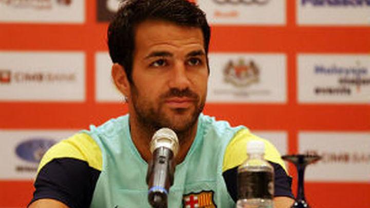 """Cesc: """"Nunca me he planteado salir del Barça"""""""
