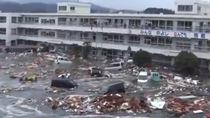 Así fue el tsunami de Japón en 2011