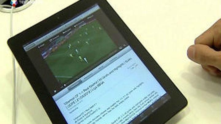 El consumidor multitarea vive pegado a la tableta