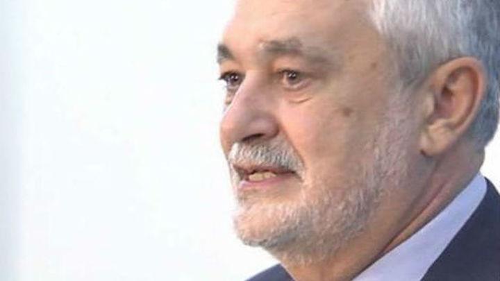 Griñán formaliza este martes  su renuncia como presidente de la Junta de Andalucía
