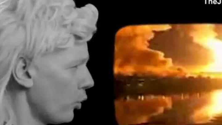 Assange, el fundador de WikiLeaks, canta un rap para conseguir votos