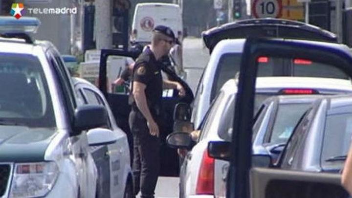 Arrollado un guardia civil por una moto en un control en la Línea para evitar el contrabando