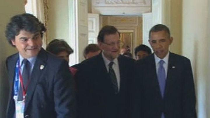 Obama elogia la recuperación de España y cita a Rajoy a verse en Washington