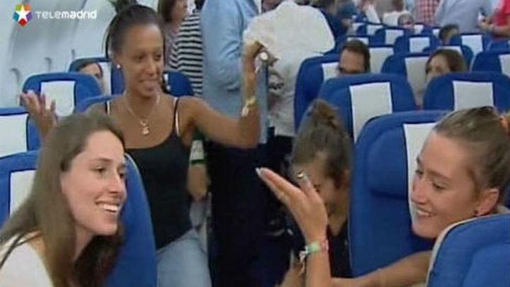 Aterriza en Buenos Aires la última delegación de apoyo a Madrid 2020