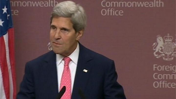 """Kerry: """"EE UU no es ciego o estúpido ante la estrategia negociadora de Irán"""""""