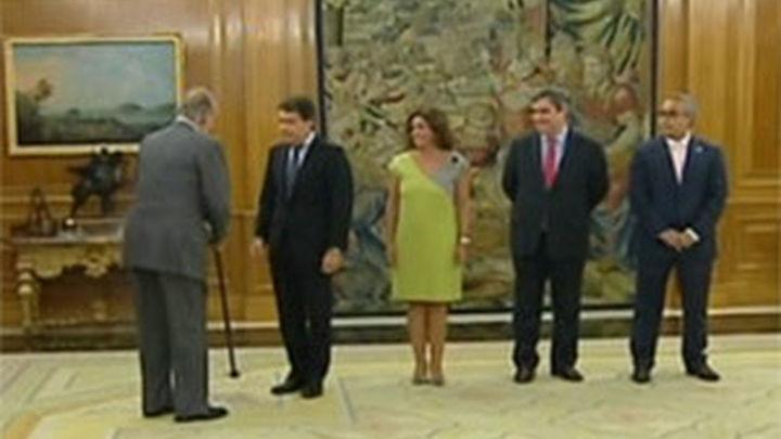 El Rey y el Príncipe reciben a Madrid 2020 entre mensajes positivos sobre Nadal