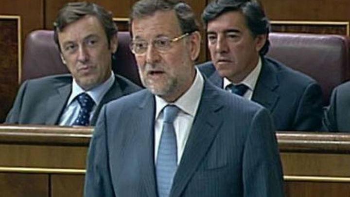 """Rajoy dice que no rectifica sobre Bárcenas porque """"nada"""" lo ha desmentido"""