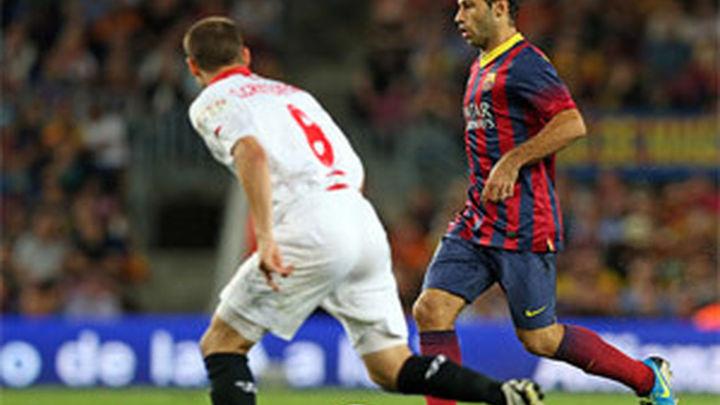 3-2. El Barça, contra las cuerdas ante el Sevilla