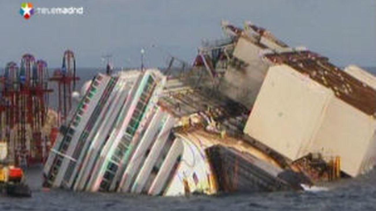El Costa Concordia volverá a salir a flote en una operación sin precedentes