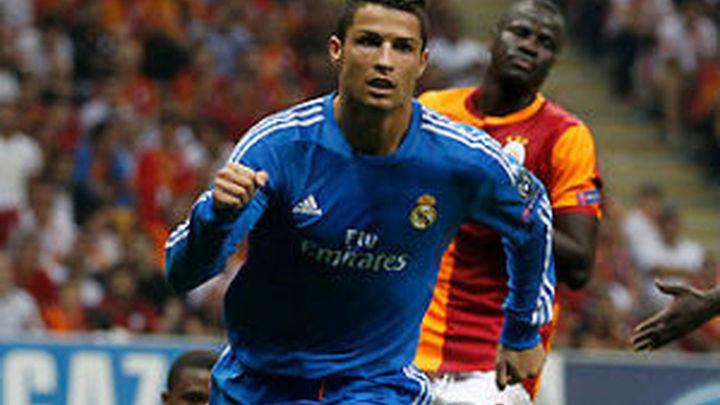 1-6. El Real Madrid, con un descomunal Cristiano, avasalla al Galatasaray