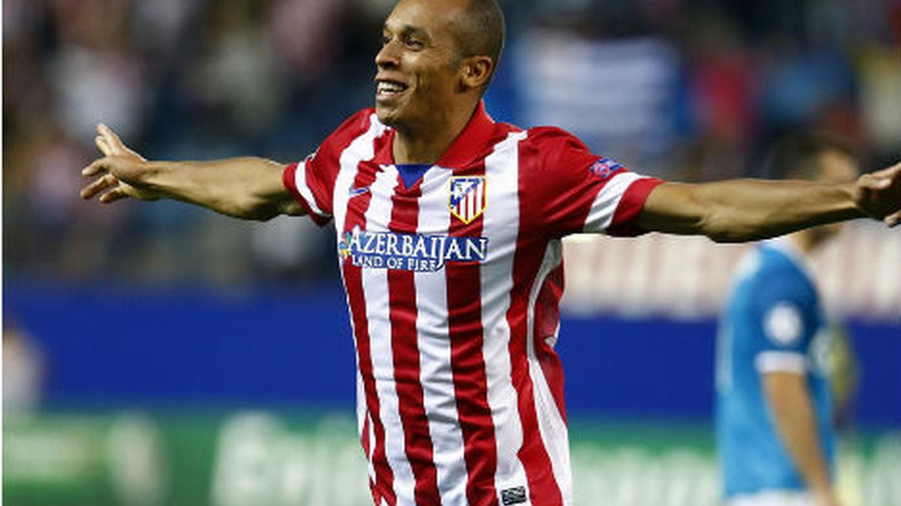 Miranda, jugador del At. Madrid