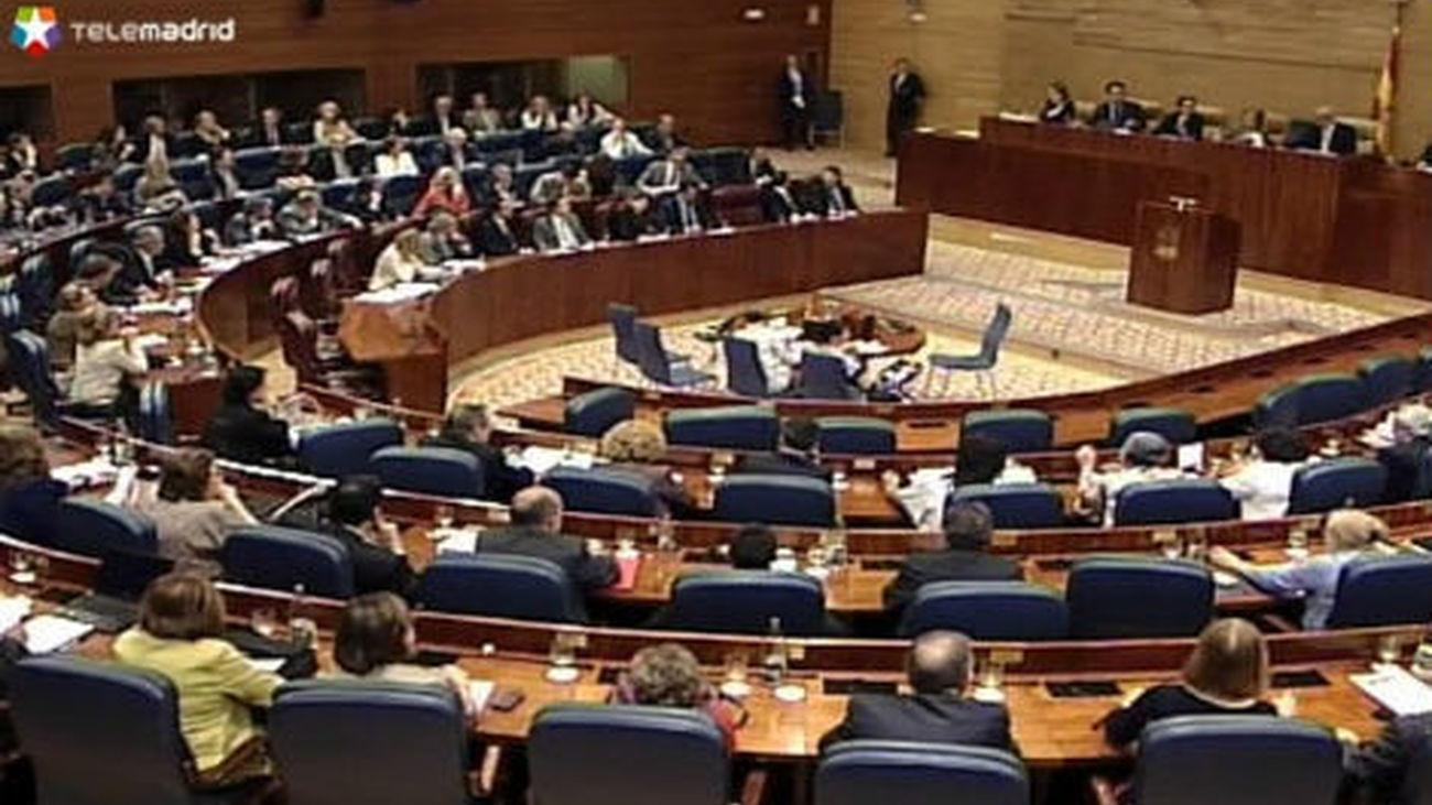 Los diputados regionales publicarán sus nóminas en la web de la Asamblea de Madrid