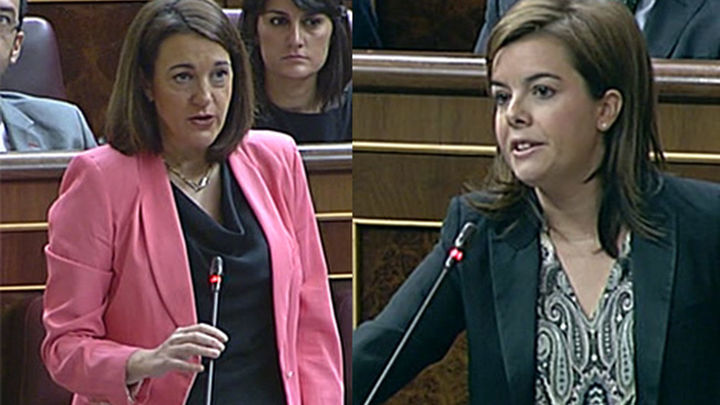 Sáenz de Santamaría: El PSOE es el partido de la oposición a la recuperación