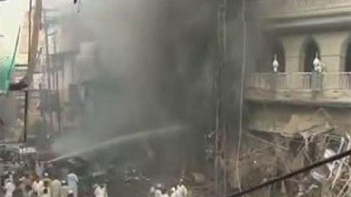 Al menos 37 muertos en un atentado con bomba en Pakistán