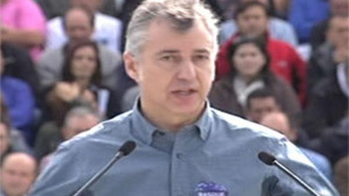 Urkullu dice que ETA debe iniciar su desarme definitivo
