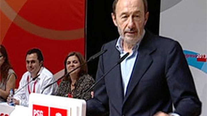 """Rubalcaba pregunta al PP """"de qué recuperación habla"""""""