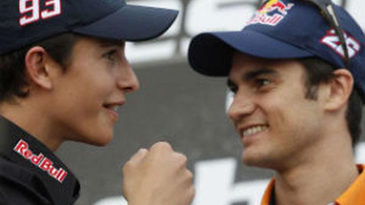 Márquez y Pedrosa confían en hacer una buena carrera en Montmeló