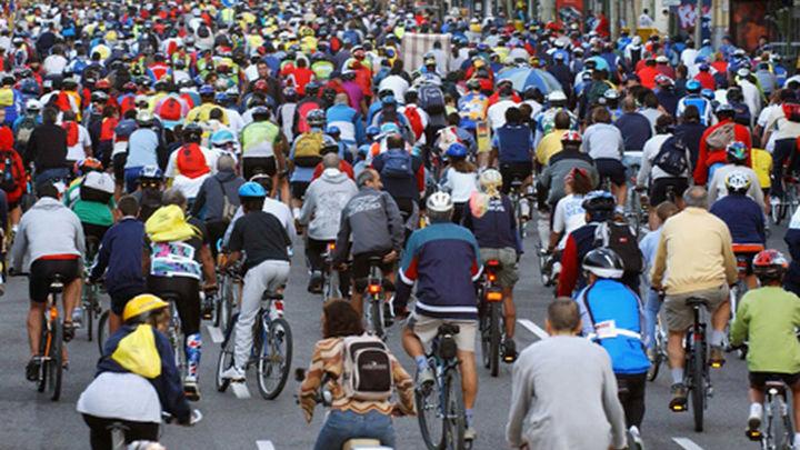 Vuelve la Fiesta de la Bici este  domingo por el centro de Madrid