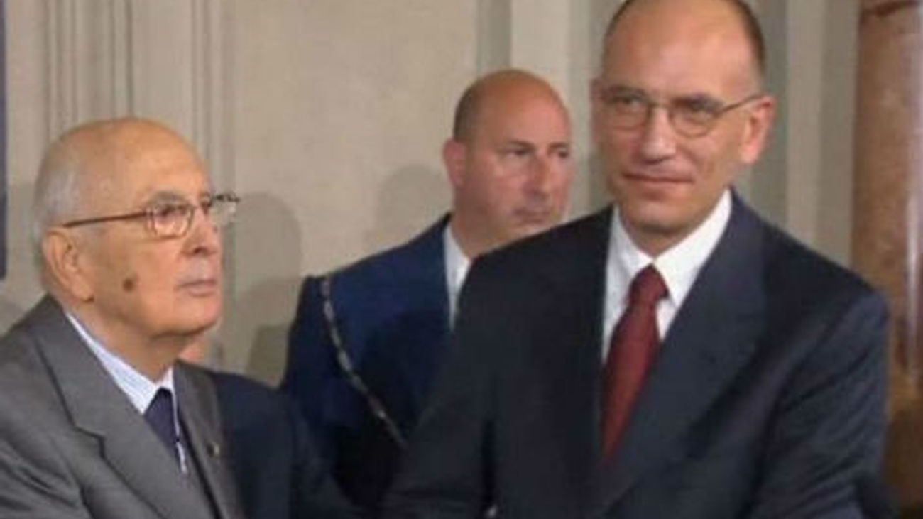 Letta pedirá el miércoles en el Parlamento italiano el voto de confianza