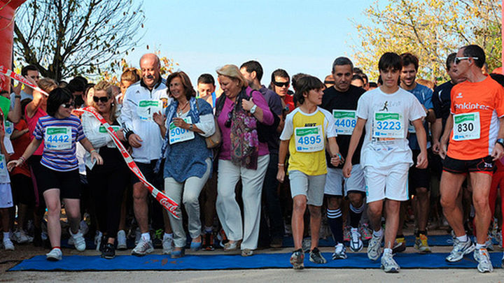 Down Madrid celebra su tercera carrera popular