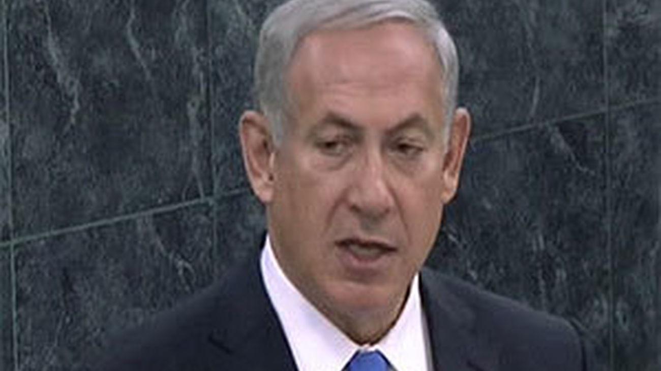 Netanyahu pide ante la ONU desconfiar de Rohaní y mantener la presión a Irán