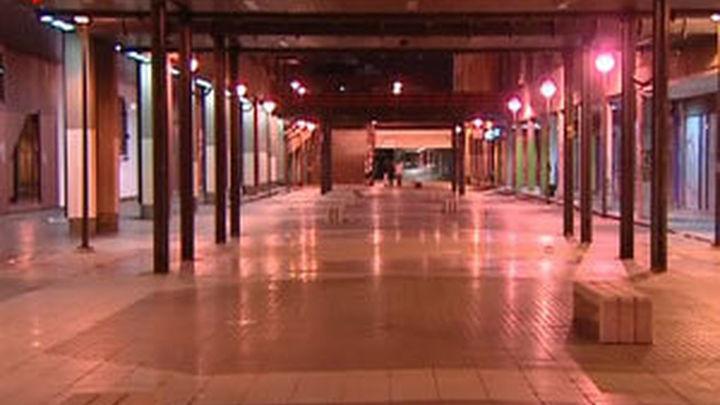 Los vecinos de AZCA piden el cierre nocturno de los túneles