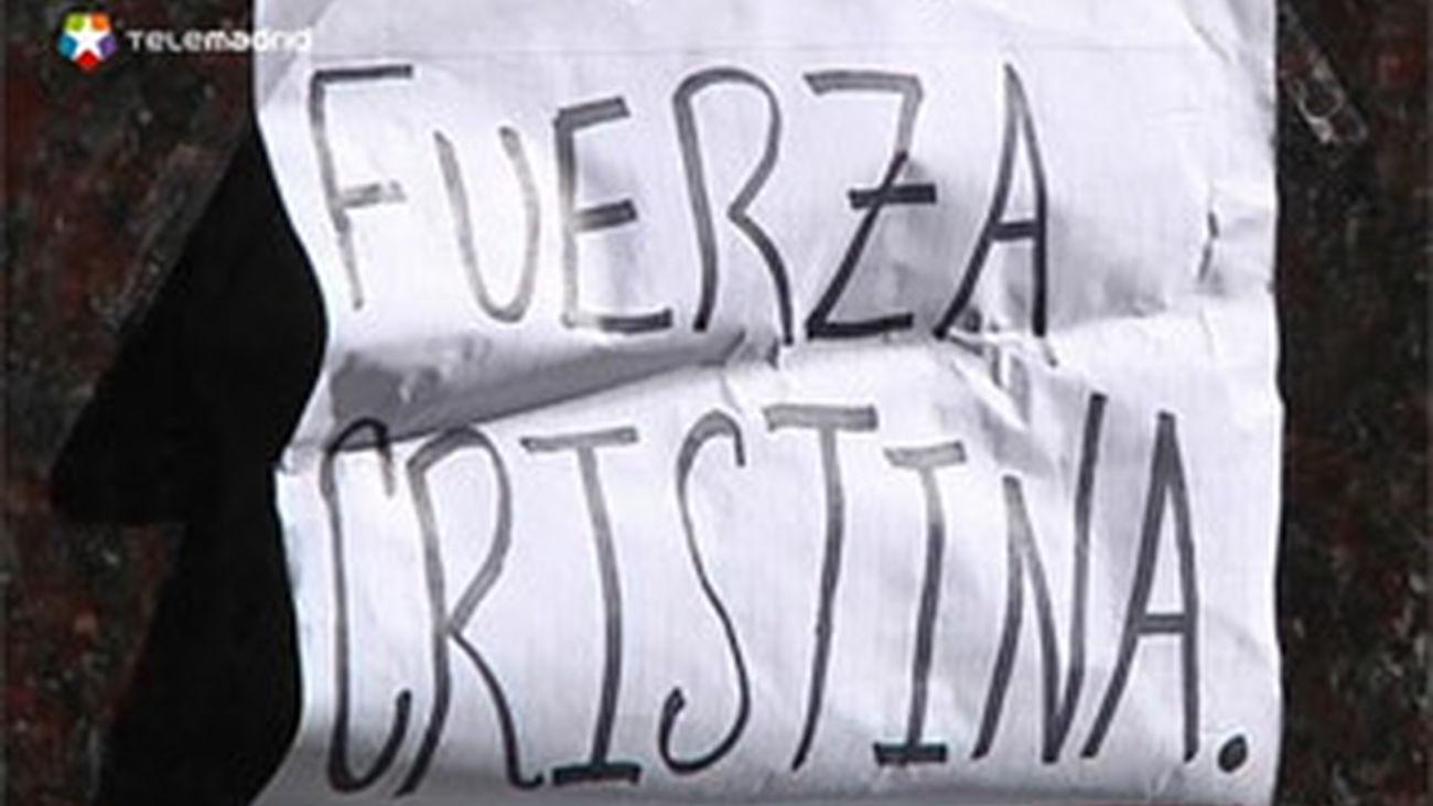 """La presidenta argentina """"está bien"""" y """"de muy buen ánimo"""" tras la operación"""