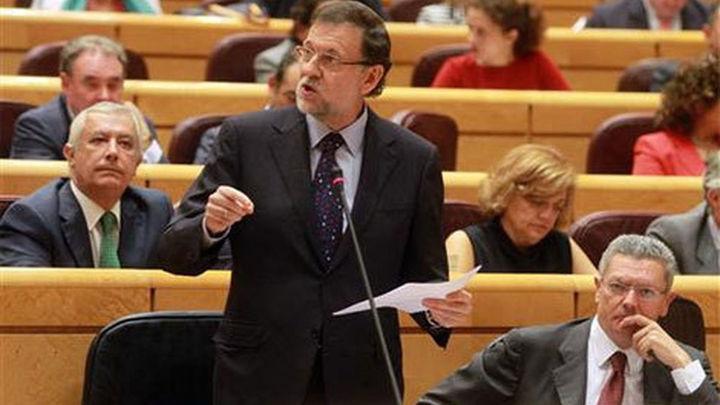 Rajoy ve injusto decir que maltrata a Cataluña y acusa a Mas de irresponsable