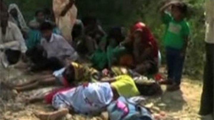 Una estampida humana deja 91 muertos en un templo de India