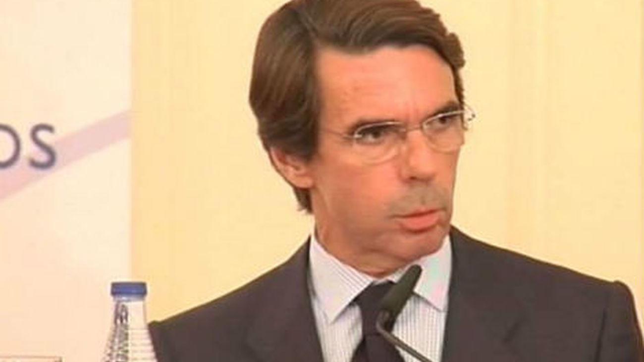 """Aznar: """"Hay que poner fin al desfalco de soberanía de los nacionalistas"""""""