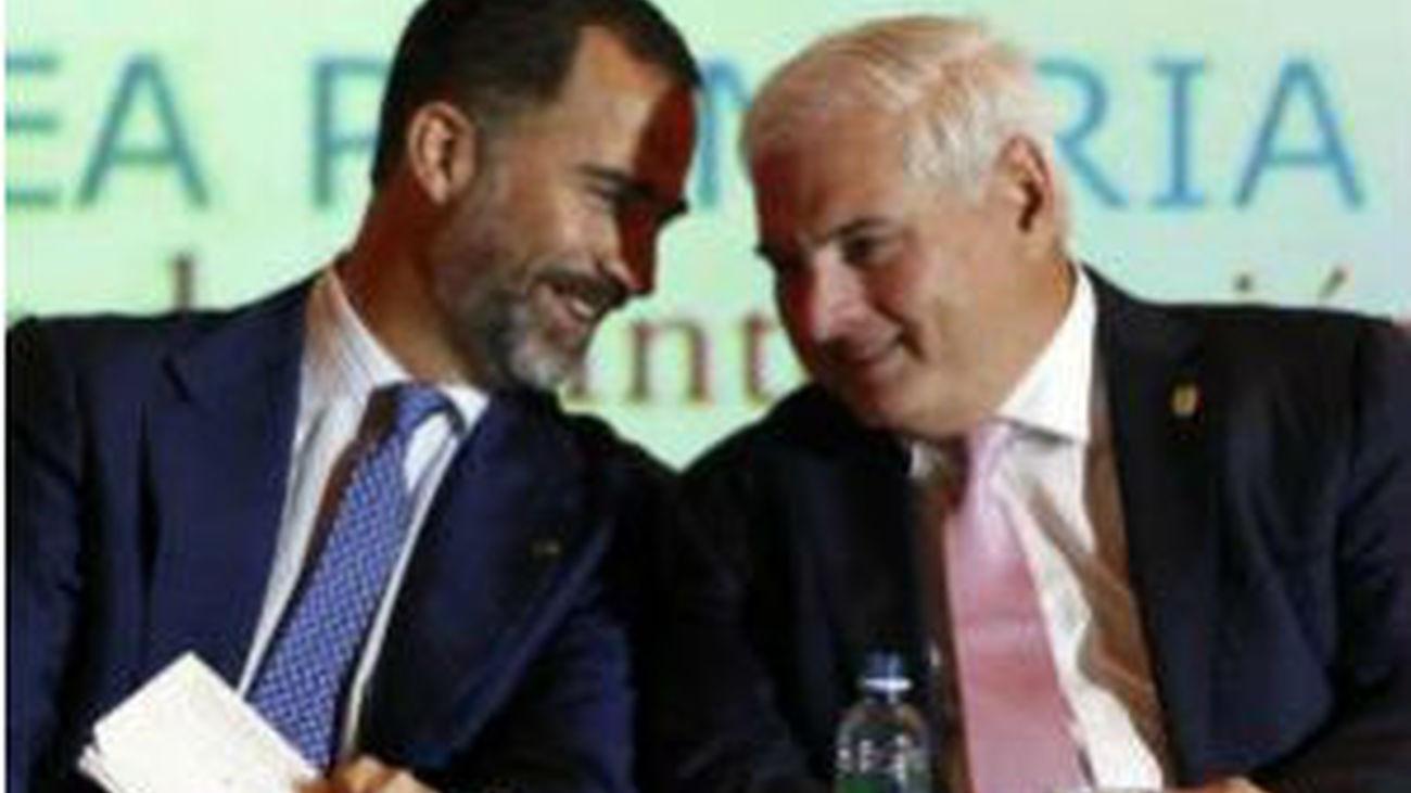 """El Príncipe, en Panamá: """"La economía española ha encontrado su camino"""""""