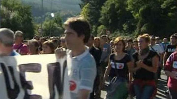 Miles de personas apoyan en Arrasate a los trabajadores de Fagor