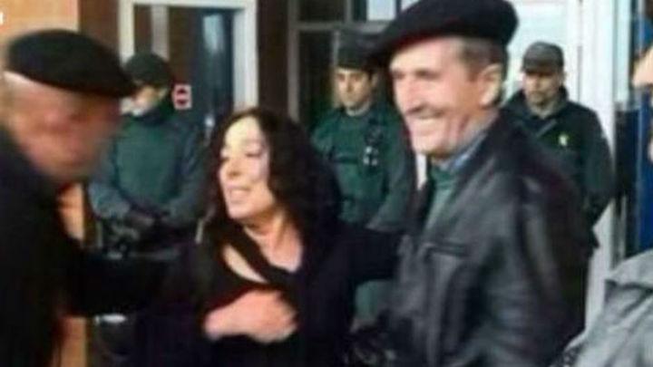 Inés del Río pasó su primera noche en libertad en Pamplona