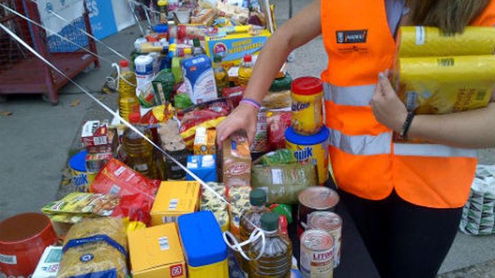 La Caixa recogerá 500 toneladas de alimentos para 68.000 niños necesitados