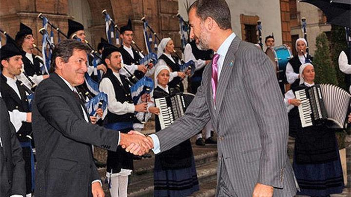 Los Príncipes de Asturias, en Oviedo para la entrega de sus premios