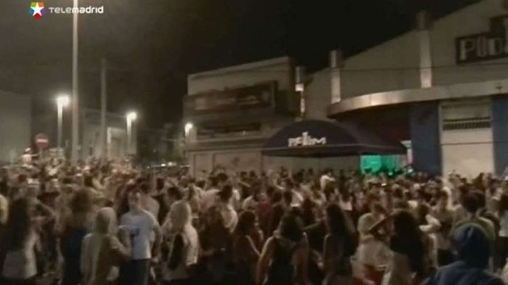 Cinco heridos por una avalancha en una discoteca de Córdoba