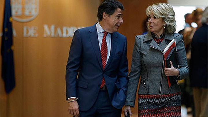 Aguirre y González intervienen en el Congreso de Nuevas Generaciones del PP madrileño