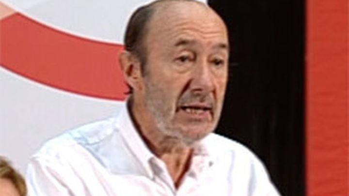 """Rubalcaba: """"La reforma de las pensiones vivirá lo que viva el Gobierno del PP"""""""