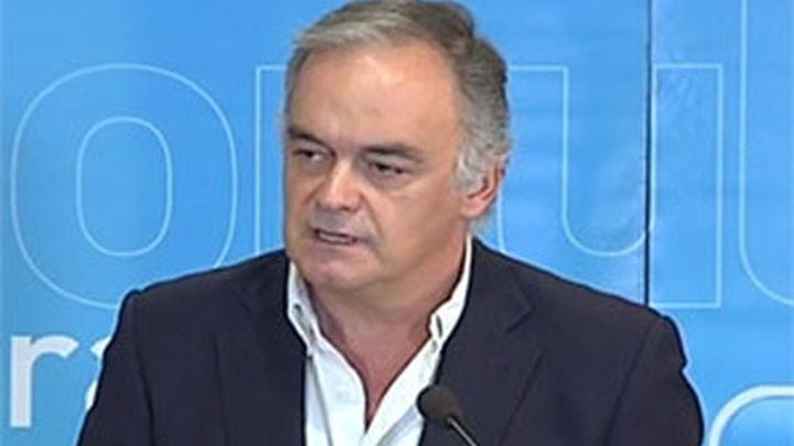 González Pons pide al PSOE que acuda a la protesta de  las víctimas