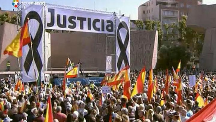 Miles de personas rechazan en Madrid el fin de la doctrina Parot